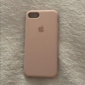 pink sand apple case iphone 7/8